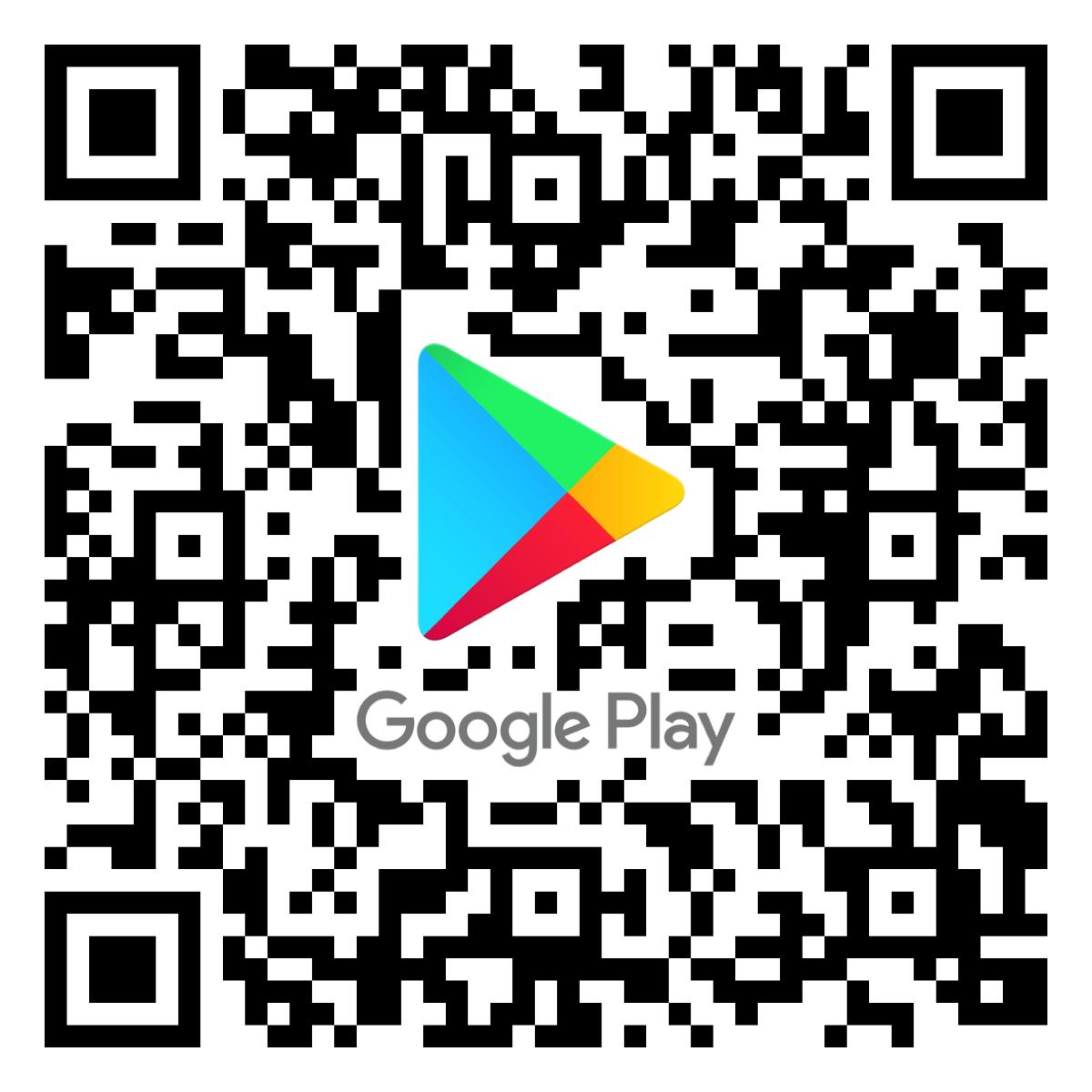 QR Code Google Play Store